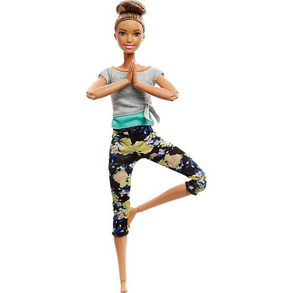 Barbie Made to Move Puppe (brünett), Barbie