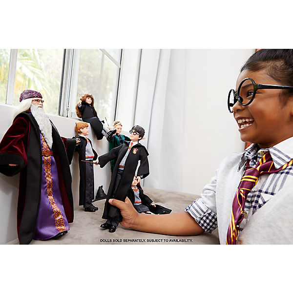 Harry Potter Und Die Kammer Des Schreckens Dumbledore Puppe Mattel