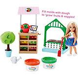 Игровой набор с куклой Barbie Овощной сад Челси