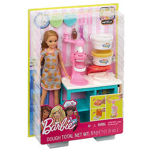 Игровой набор с куклой Barbie Завтрак со Стейси от Mattel