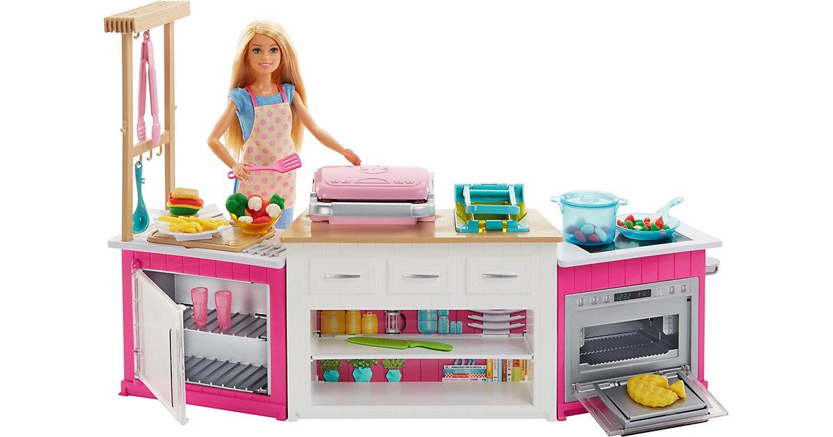 Barbie ´´Cooking & Baking´´ Deluxe Küche Spielset & Puppe