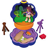 Игровой набор Polly Pocket Smart Stick, фиолетовый цветок