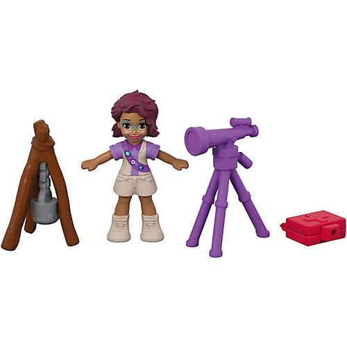 Игровой набор Polly Pocket Smart Stick, фиолетовый цветок от Mattel