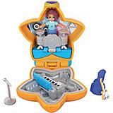 Игровой набор Polly Pocket Smart Stick, оранжевая звезда