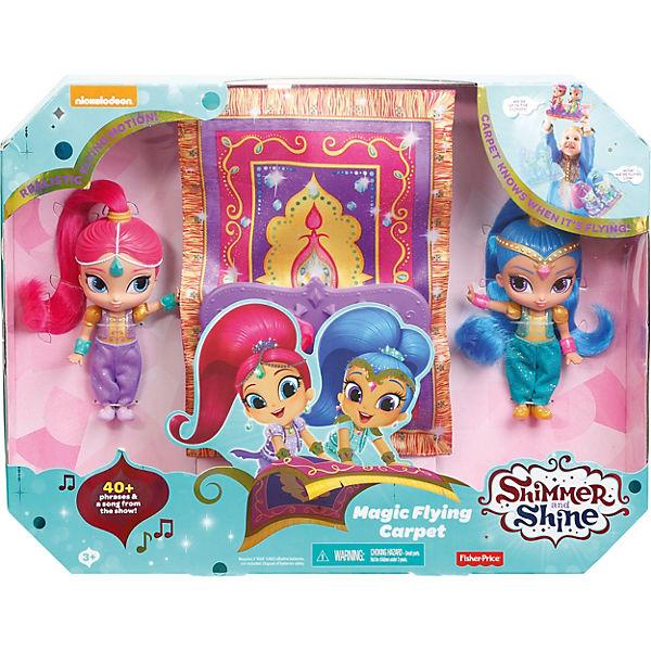 Shimmer & & & Shine Fliegender Teppich Spielset (mit Geräuschen), Mattel 977cfc