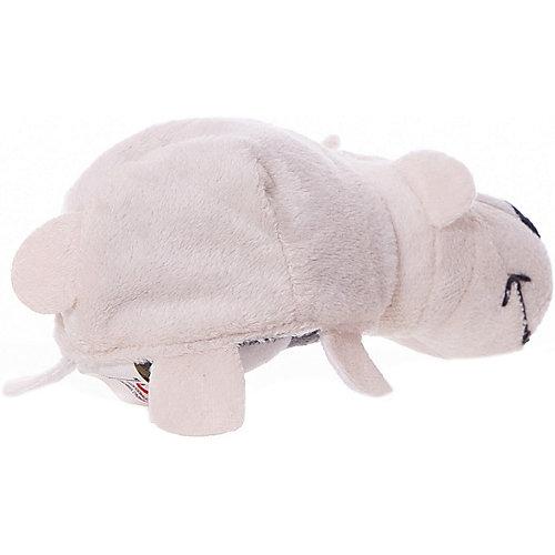 Мягкая игрушка-вывернушка 1toy Хаски - Полярный медведь, 12 см от 1Toy