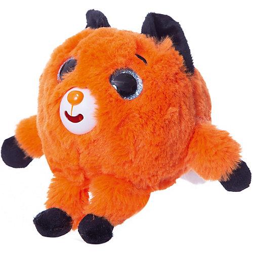 """Мягкая игрушка 1toy """"Дразнюка-Zoo"""" Лисичка, 13 см, звук от 1Toy"""
