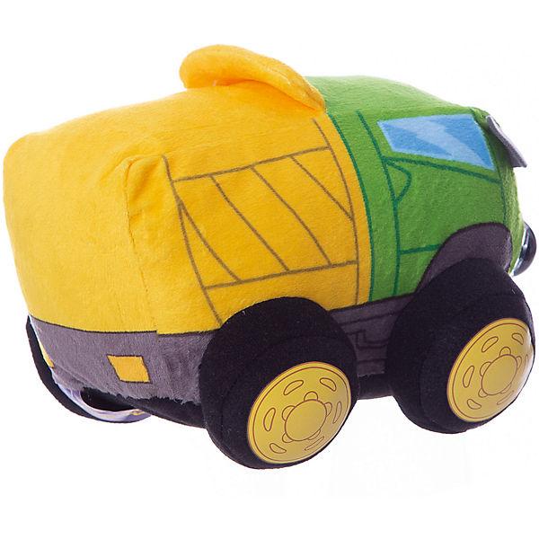 "Мягкая игрушка 1toy ""Дразнюка-Биби"" Грузовичок, 15 см, свет, звук"