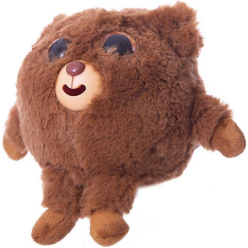 "Мягкая игрушка 1toy ""Дразнюка-Zoo"" Медвежонок, 13 см, звук от 1Toy"