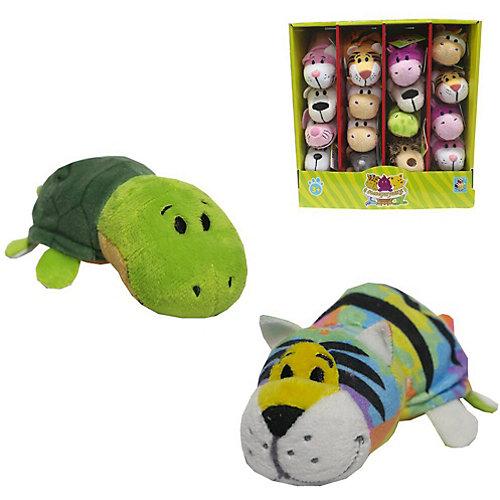 Мягкая игрушка-вывернушка 1toy Радужный тигр - Черепаха, 12 см от 1Toy