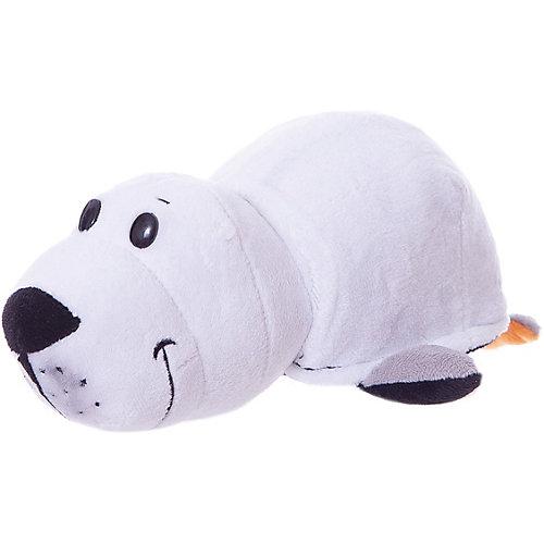 Мягкая игрушка-вывернушка 1toy Пингвин - Морской котик, 20 см от 1Toy
