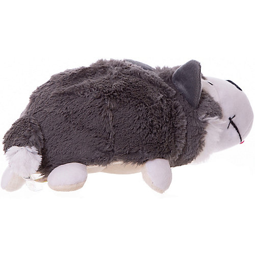 Мягкая игрушка-вывернушка 1toy Хаски - Полярный медведь, 20 см от 1Toy