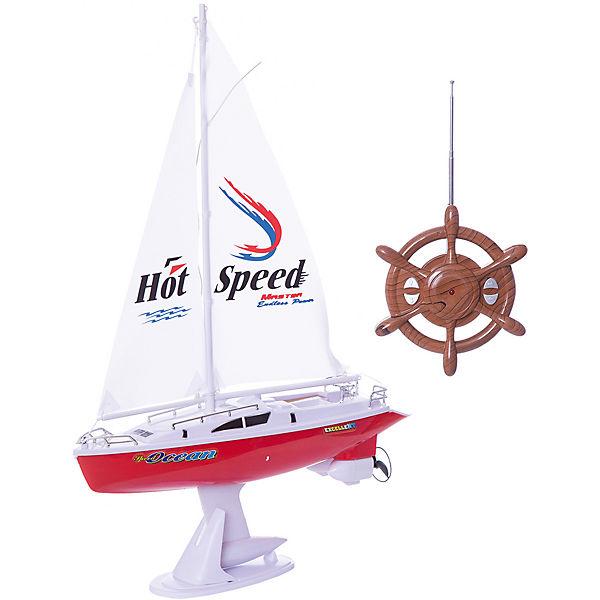 Радиоуправляемая яхта 1toy с парусом, 38 см