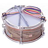 Игрушечный барабан Тилибом 2 палочки, 21 см