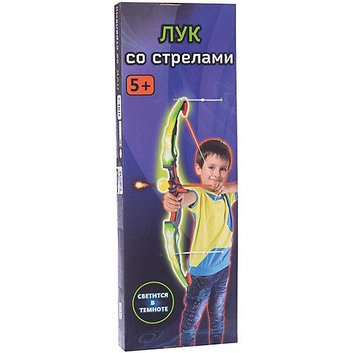 """Игрушечное оружие 1toy """"Набор лучника"""", свет от 1Toy"""