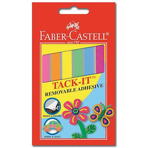 Снимаемая масса  для приклеивания Faber-Castell «Tаck-it», 6 шт от Faber-Castell