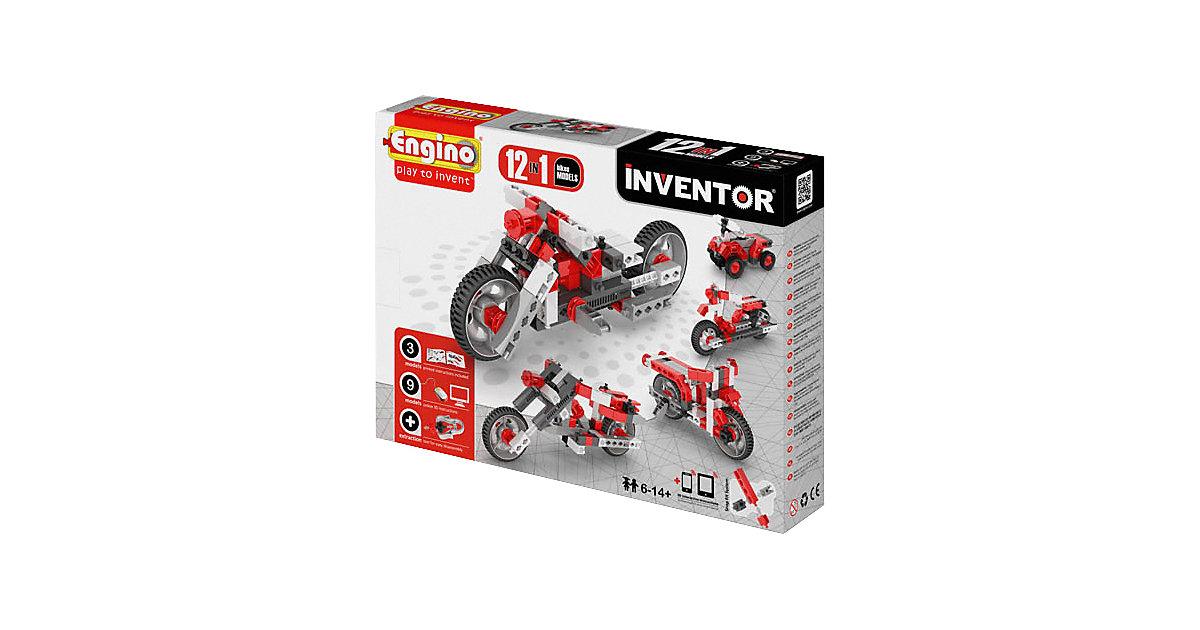 Engino Inventor 12 Modelle Motorräder
