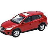 "Коллекционная машинка Welly ""Mazda CX-5"", 1:34-39, красная"