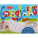 """Раскраска Melissa & Doug """"Забавные животные"""""""