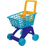 Тележка для супермаркета Dohany, синяя