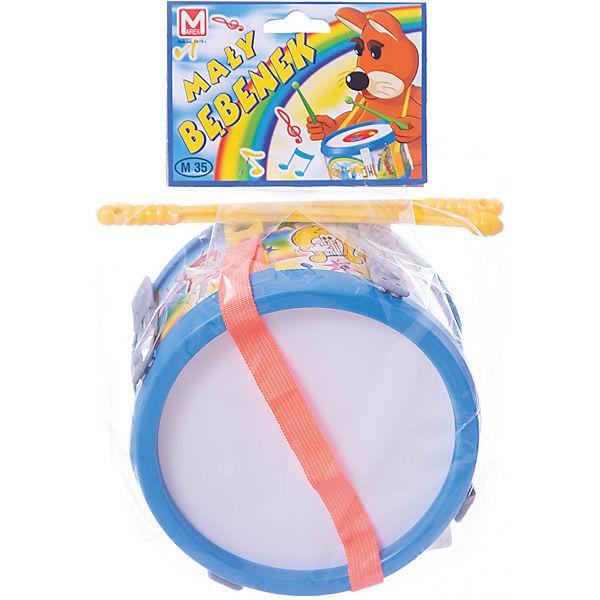 Барабан малый Marek 17 см, синий