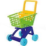 Тележка для супермаркета Dohany, зелёная