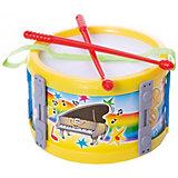 Барабан малый Marek 17 см, жёлтый