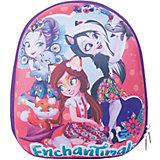 Рюкзак школьный Centrum «Enchantimals», 1 отделение, красный