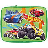 Папка-сумка с ручками Centrum «Hot Wheels», А4, зеленый