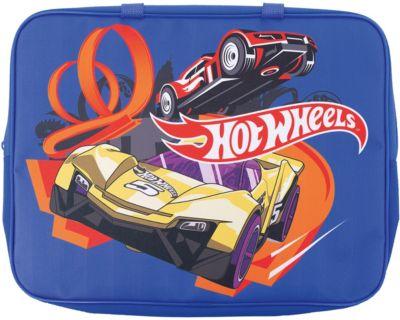 Папка-сумка Centrum «Hot Wheels», с ручкой, А4