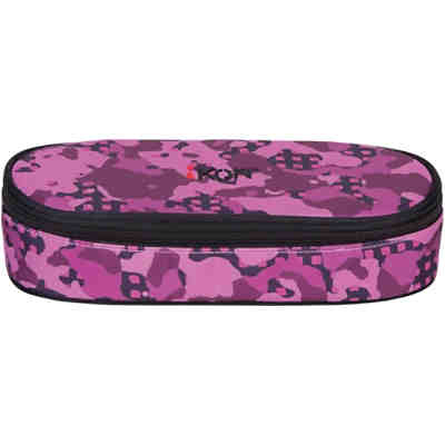 iKON Etuibox Pencil Case Purple Camouflage