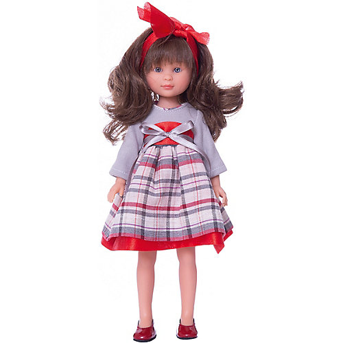 Классическая кукла Asi Селия в сером платье 30 см, арт 164120 от Asi