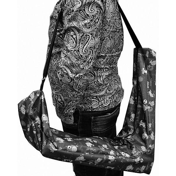 Чехол-органайзер для трехколесного самоката Small Rider Boots совушки, тёмно-синий