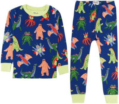 Пижама Hatley для мальчика - темно-синий