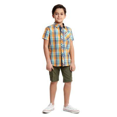 Сорочка PlayToday для мальчика - разноцветный