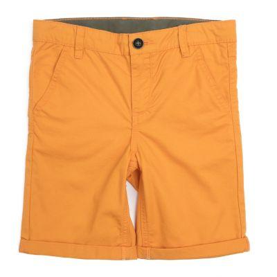 Шорты PlayToday для мальчика - оранжевый