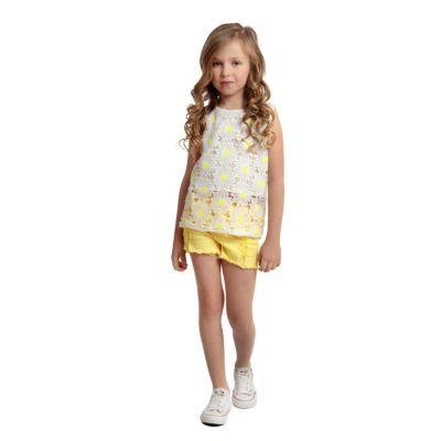 Блузка PlayToday для девочки - белый