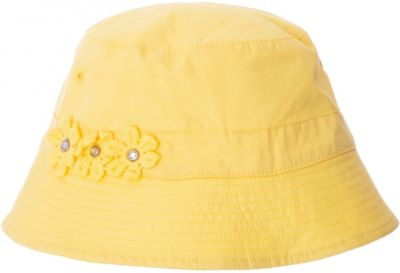 Панама PlayToday для девочки - желтый