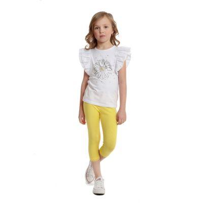 Леггинсы PlayToday для девочки - желтый