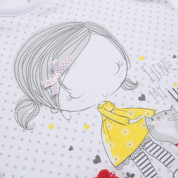 Майка PlayToday для девочки