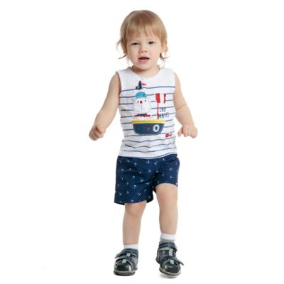 Шорты-плавки PlayToday для мальчика - темно-синий