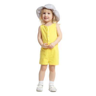 Комбинезон PlayToday для девочки - желтый
