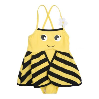 Купальник PlayToday для девочки - желтый