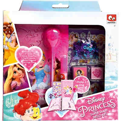Princess Make your own Diary - Tagebuch in Geschenkpackung
