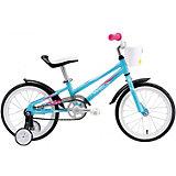 """Двухколёсный велосипед Welt """"Pony"""" 16, голубой"""