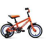 """Двухколёсный велосипед Welt """"Dingo"""" 12, оранжевый"""
