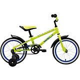 """Двухколёсный велосипед Welt """"Dingo"""" 16, жёлтый"""