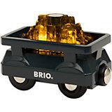 """Игровой набор Brio """"Вагончик с светящимся грузом золота"""""""