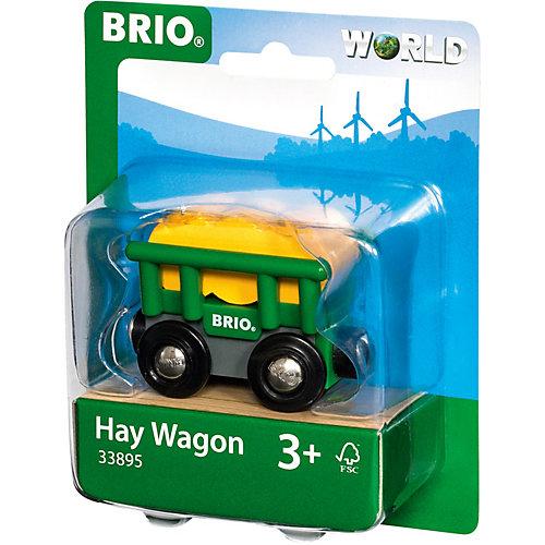 """Игровой набор Brio """"Вагончик с сеном"""" от BRIO"""