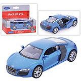 Модель машины 1:34-39 Audi R8, Welly, синяя
